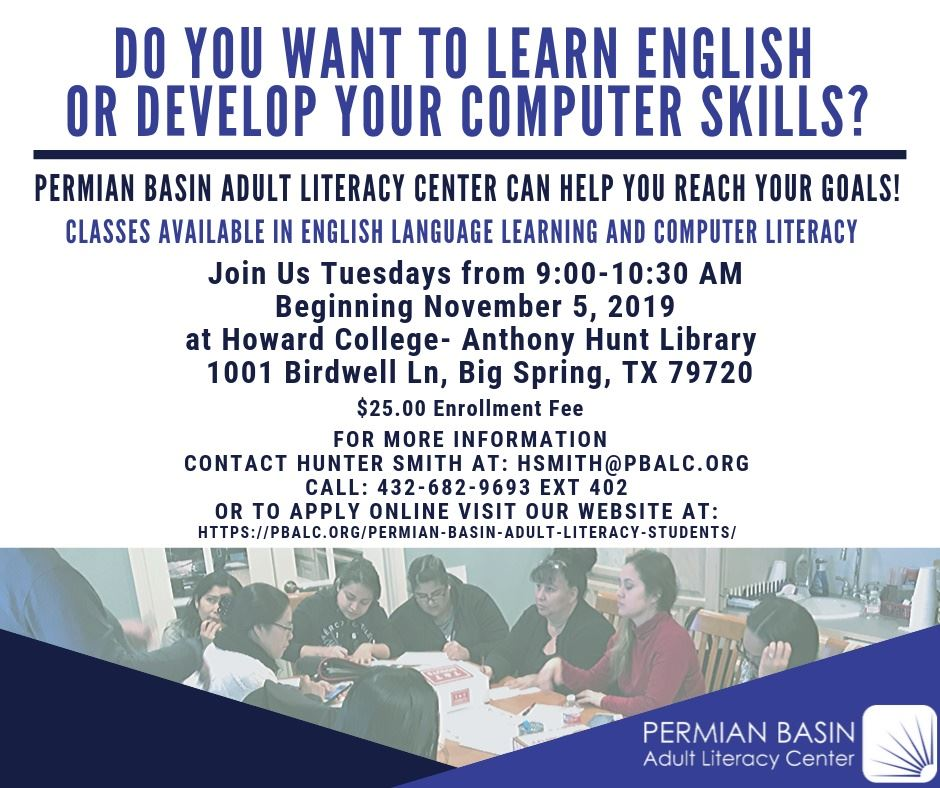 PB Adult Literacy Fall 2019